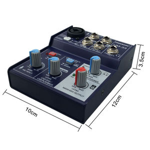 Image 5 - Freeboss UM 33 3 채널 입력 마이크 라인 삽입 스테레오 USB 재생 USB 인터페이스 오디오 믹서