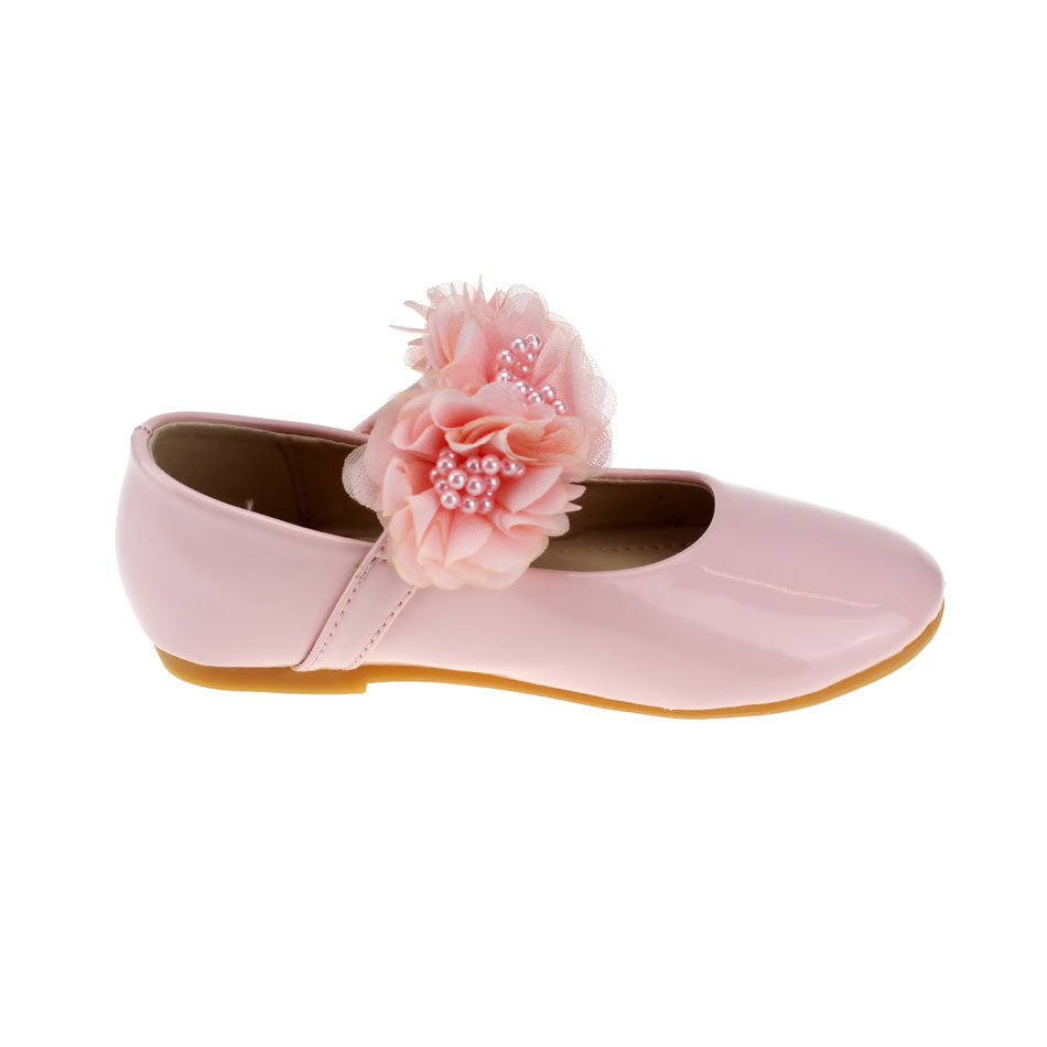 MSMAX Children Single Shoes Leather Girls Dress Party Shoes Pink Lace  Flower Beading Flat Princess Kids Ladies Wedding Shoes -in Leather Shoes  from Mother ... 83f71712569f