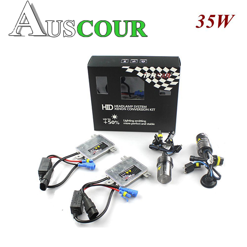 35w AC hid xenon kit canbus xenon ballast h1 h4 h7 h8 h11 hb3 hb4 h13 9005 9006 bulb white color 6000k car headlight auto lamp free shipping iphcar car styling hid xenon h1 h7 h11 9004 9005 9006 9007 bulb kit 35w hid light kit with slim ballast