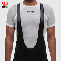 2017 AOSTER Pro Team Base Layer Sleeveless Cycling Underwear Quick Dry Road Shirt Man Or Woman