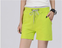2018 Spring And Summer Women S New Slim Candy Fashion Mosaic Straight Shorts