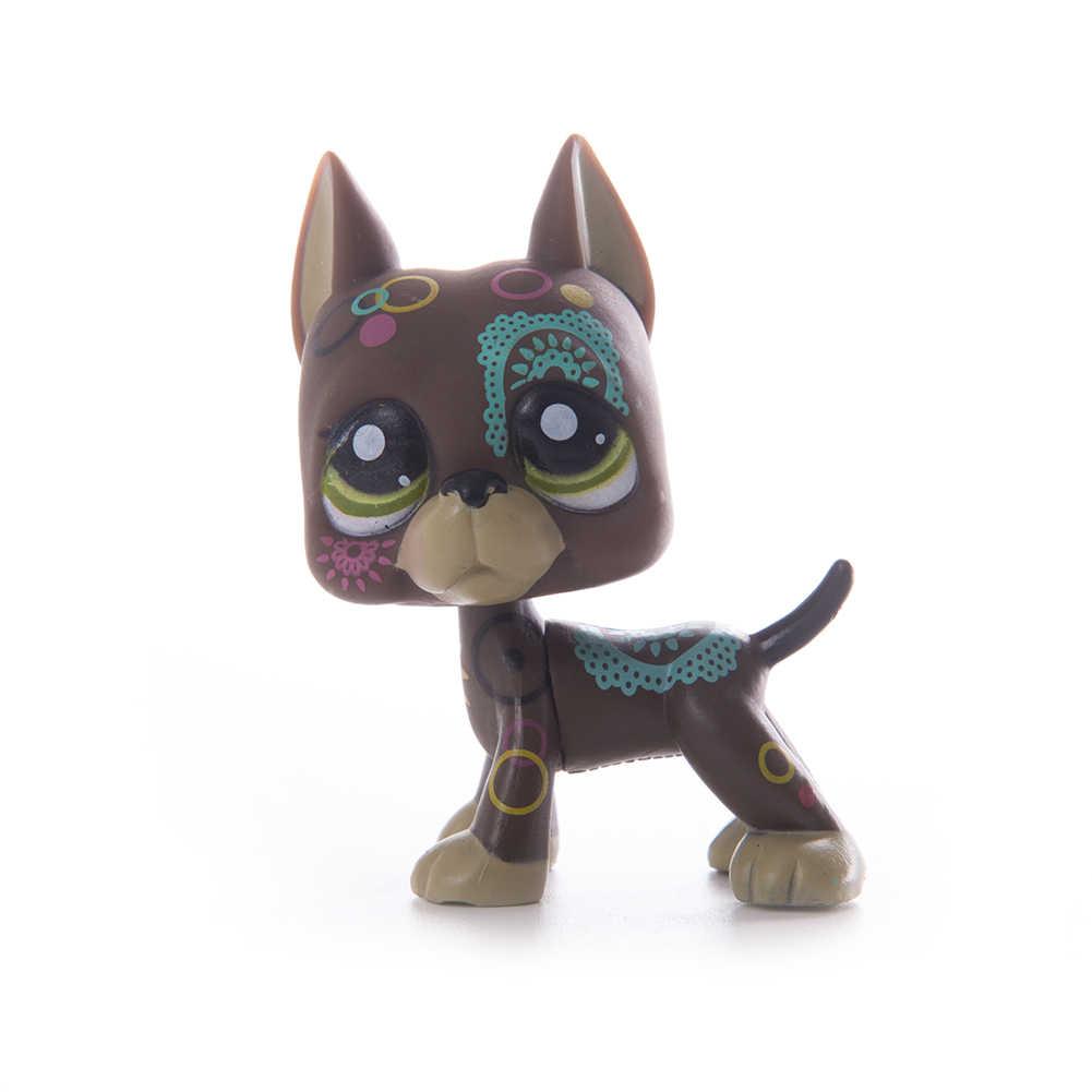 Lps الحيوانات الأليفة متجر دمية على شكل كلب جمع القديمة Lps القط لعب قصيرة الشعر عمل الدائمة الشكل تأثيري لعب الأطفال هدية