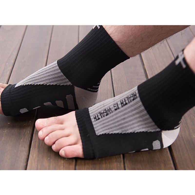 1 Paar Männer Frauen Anti Müdigkeit Engel Durchblutung Radfahren Socken Ankle 2017 Schwellungen Relief Kompression Fuß Hülse Socken Verpackung Der Nominierten Marke