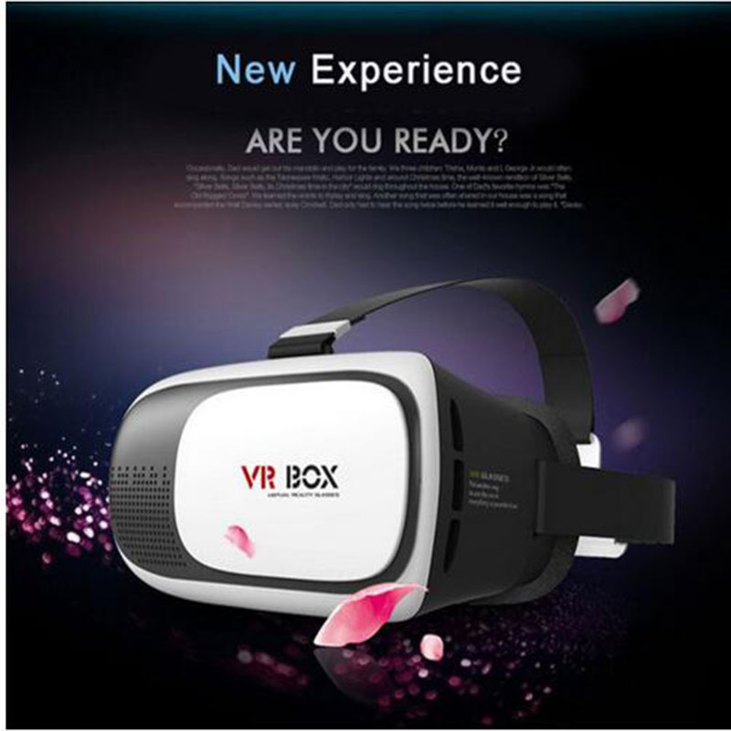 3D VR Headset with Magnetic Trigger Lightweight Virtual Reality Goggles 3rd Generation VR Box VR