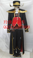 LOL Twisted Fate the Card Master cosplay costume full set coat pants hats leg covers