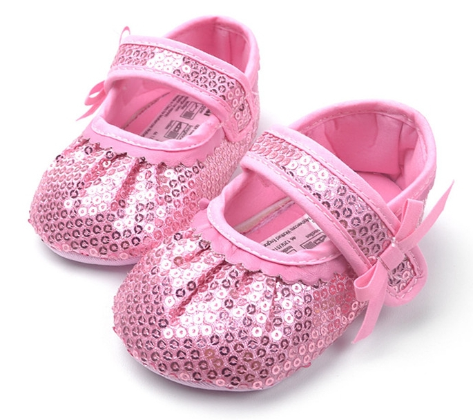 Baby Girl Princess Sparkly Shoes Infant