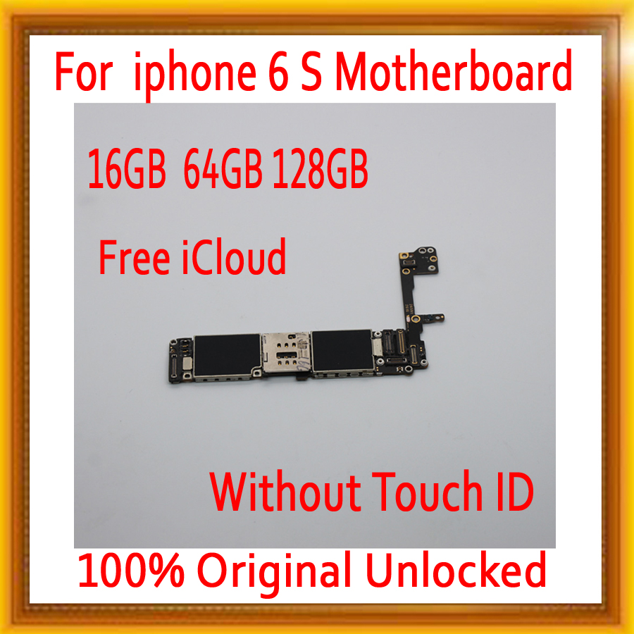 without Touch ID For iPhone 6S Motherboard with OS System,Original unlocked for iphone 6S Logic boards+Chips ,16gb 64gb 128gbwithout Touch ID For iPhone 6S Motherboard with OS System,Original unlocked for iphone 6S Logic boards+Chips ,16gb 64gb 128gb