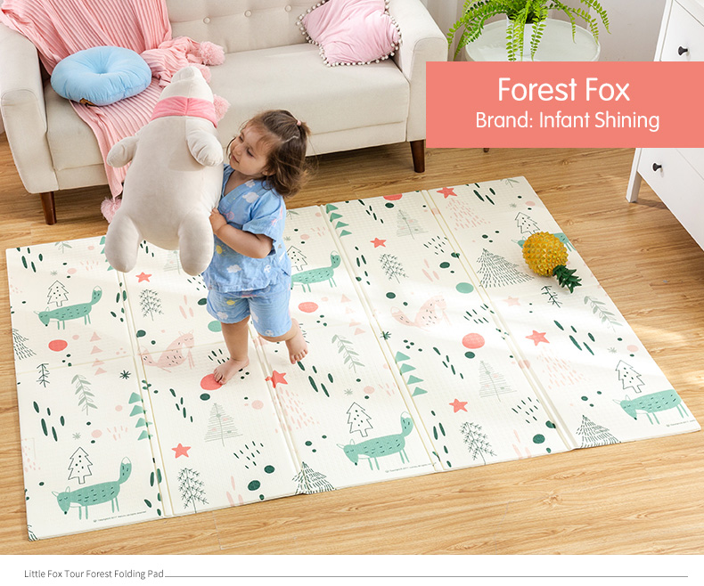 HTB1NCyZcq5s3KVjSZFNq6AD3FXah Infant Shining Baby Play Mat Xpe Puzzle Children's Mat Thickened Tapete Infantil Baby Room Crawling Pad Folding Mat Baby Carpet