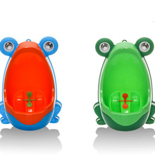 Children Toilet Training Closet Baby Boy Child Frog Stand Ve
