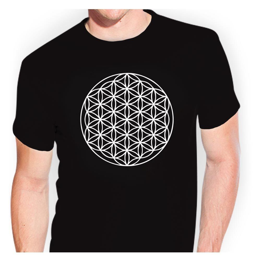 Blume des Lebens - tsf0406 T-Shirt Sticker Bomb Aufkleber