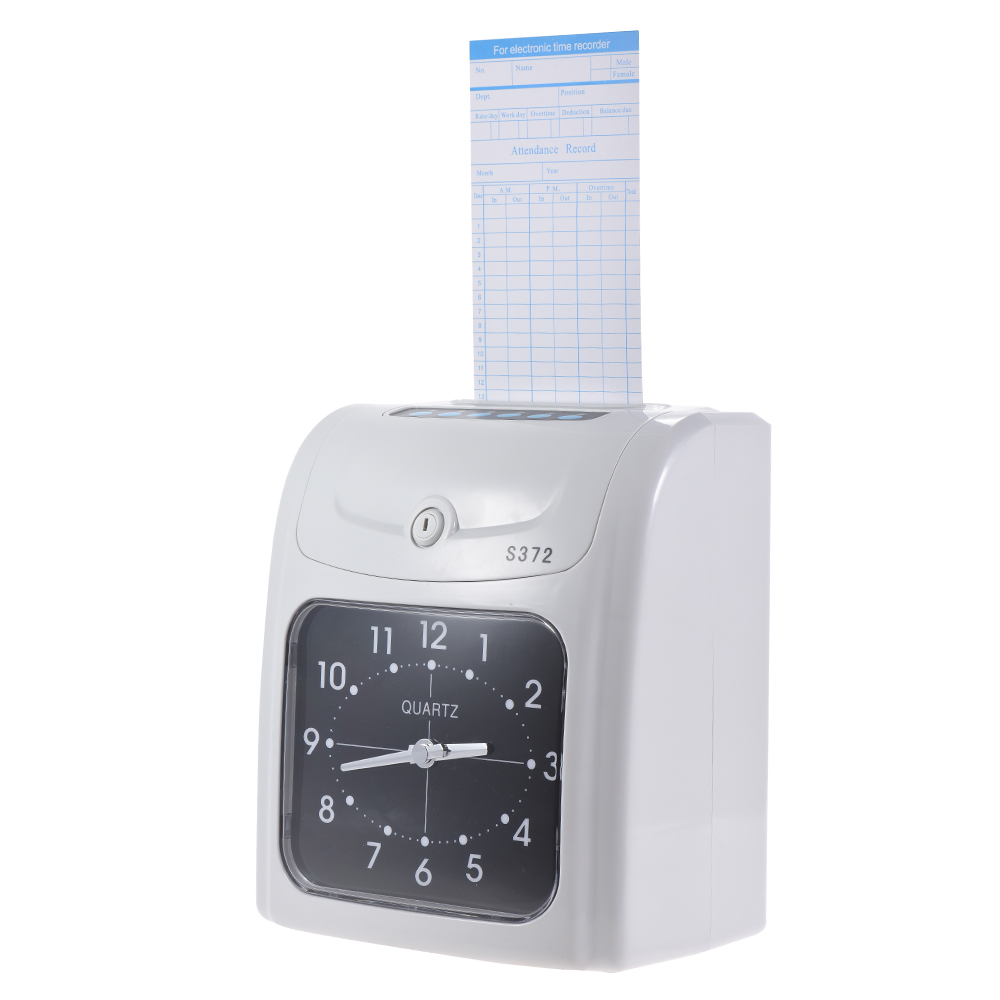 Electronic Employee Time Clock Recorder Attendance Time Card Machine for Office Factory Warehouse-in Time Recording from Computer & Office    1
