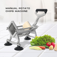 Manual Potato Chopper Stainless Steel Vegetable Fries Maker Cutting Strip French Cutter Kitchen Cooking Tool