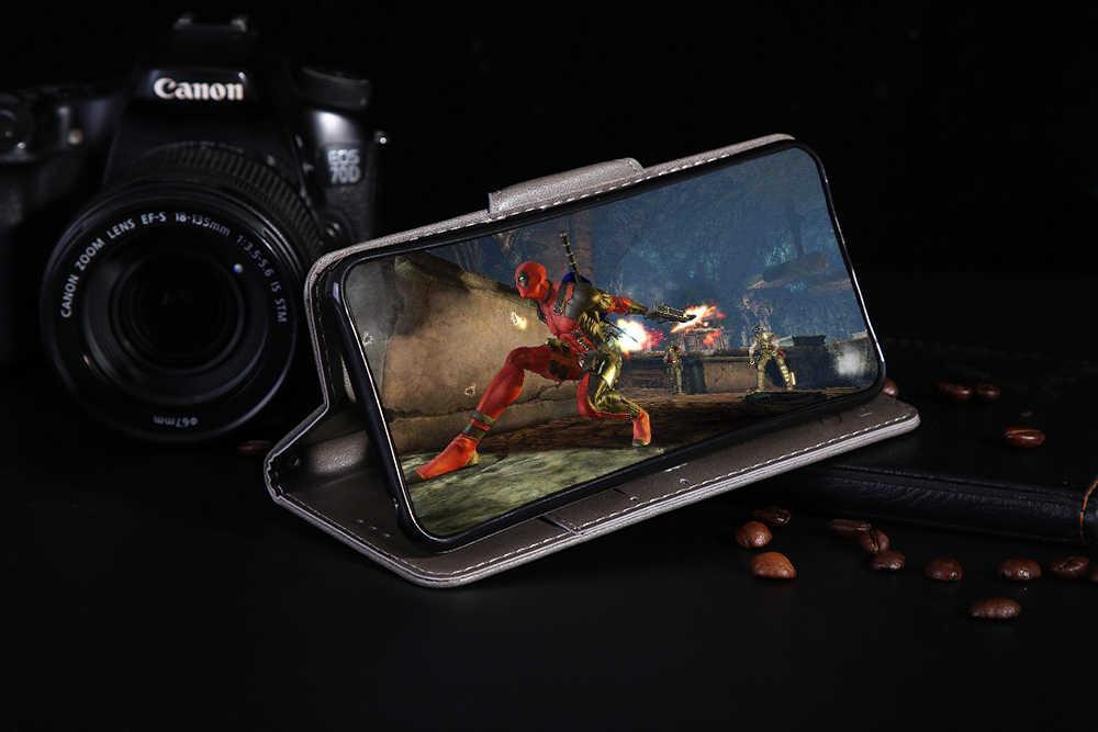 Для huawei Honor 7C Чехол Флип Роскошный чехол для телефона из искусственной кожи для huawei Honor 7C 7 C AUM-L41 RU Европейская версия Чехол 5,7 задняя крышка