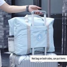 2019 Travel Bags WaterProof Travel Folding Bag Large Capacity Bag Luggage Women Nylon Folding Bag Travel Handbags Free Shipping