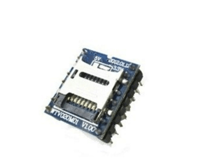 5pcsWTV020 WTV020 SD WTV020SD 20SS Mini SD Card MP3 Sound Module For PIC WTV020 SD 16P