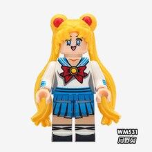 Voltron SLAP DUNK Sailor Moon Saint Seiya Kamen Rider superhéroes Legoing figuras amigos princesa bloques enmascarados Rider juguetes hombre