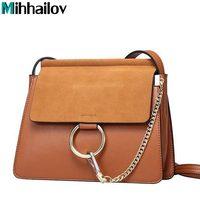 Sale Popular Fashion Brand Design Women Genuine Leather Cloe Bag High Quality Real Cowskin Shoulder Bag
