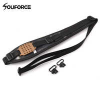 2 Type Tactical Camo Rifle Sling with Quick Deatch Swivels Shoulder Strap for Outdoor Shooting Hunting Accessories