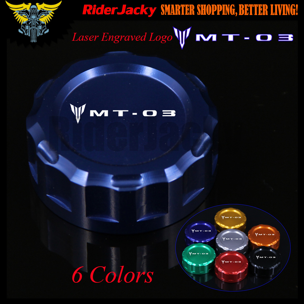 7 Colors CNC Aluminum Motorcycle Rear Brake Fluid Reservoir Cover Cap For Yamaha MT-03 MT03 MT 03 2015 2016 120 holes pencils case school large portable pu leather capacity pencil bag for students painting sketch art supplies penalty