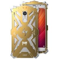 For Xiaomi Redmi Note 4 Note 4x Phone Cases Simon Design Metal Aluminum Anti Knock Armor