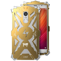 For Xiaomi Redmi Note 4 Note 4x Phone Cases Simon Design Metal Aluminum Anti Knock Armor