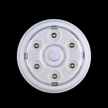 Newest High Quality 6 LED Wireless Infrared PIR Auto Sensor Motion Detector Battery Powered Door Wall Light Lamp Hot Sales
