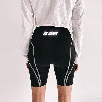 LAISIYI Black Cut and Sew Leggings Short Leggings Women Plain Fitness Sporting Crop Leggings Summer Athleisure Workout Leggings