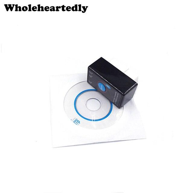 Новые + + качество супер мини ELM327 Bluetooth V1.5 ELM 327 OBD2 OBDII CAN-BUS диагностический сканер инструмент с Мощность переключатель