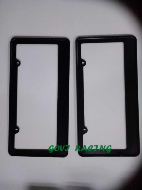crni okvir registarske tablice automobila ABS držač registarske - Vanjska auto oprema - Foto 4