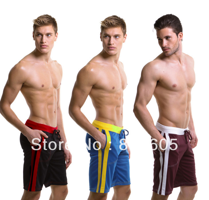 Hot New Men\'s Home Sports Shorts Household Boxer S...