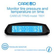 Solar Power Car font b TPMS b font Tire Pressure Monitoring System Wireless LCD Display 4