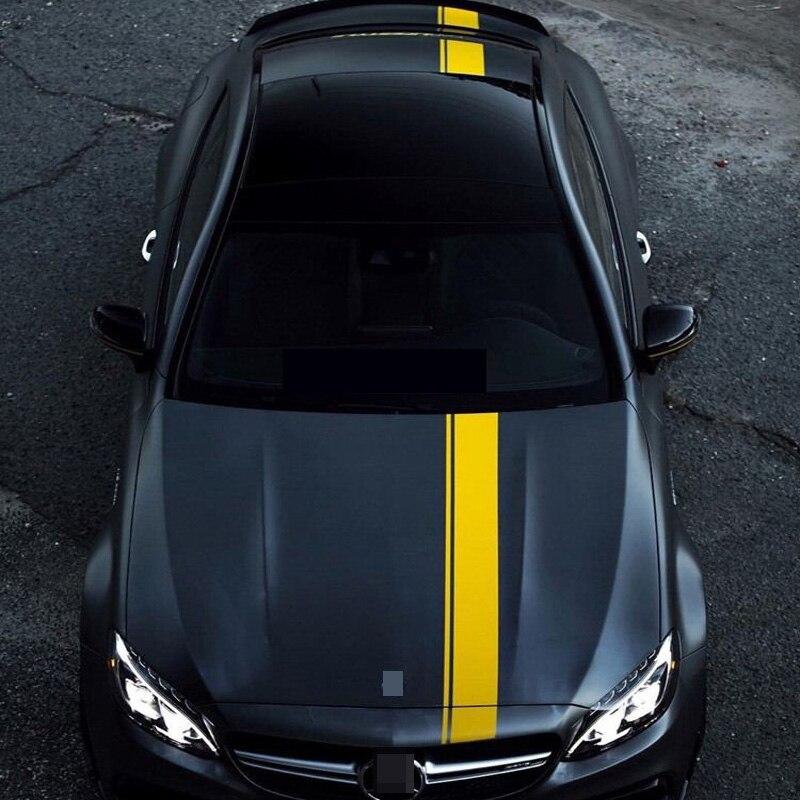 KK Car Body  Sticker For Mercedes Benz AMG W204 W211 W210 C63 C180 E200 CLA GLK GLE GLA A180 A B C E Class A45