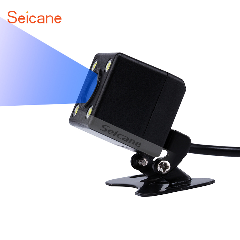 Seicane Rear View Backup Camera HD High definition 170 Degree Wide Angle Vision for Parking Car Reverse 648*488 pixels
