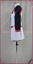 Sword Art Online Asuna Cosplay Costume Halloween Uniform Outfit Top+Legging+Sleeves Custom-made