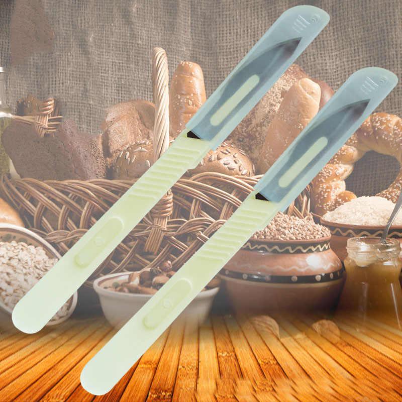 1 in Acciaio al carbonio Pane Baguette Toas Coltello Per Affettare Cutter con Maniglia Bilancia per Chef Professionisti Bakers Macchina per fare il pane cuochi