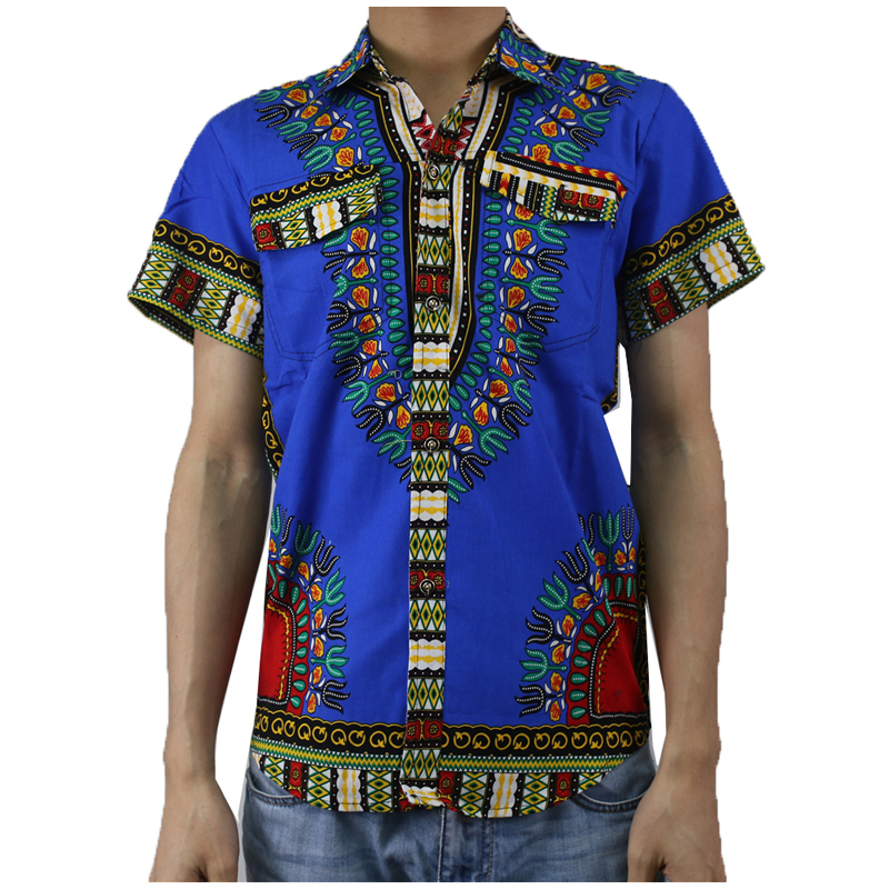 MD Teenager Dashiki Shirt African Cotton Dashiki Clothes For Girls Boys 2019 Summer African Clothing Kids Bazin Riche T-shirts