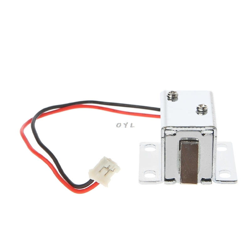 Image 3 - Electronic Lock Catch Door Gate 12V 0.4A Release Assembly Solenoid Access Control-in Electric Lock from Security & Protection
