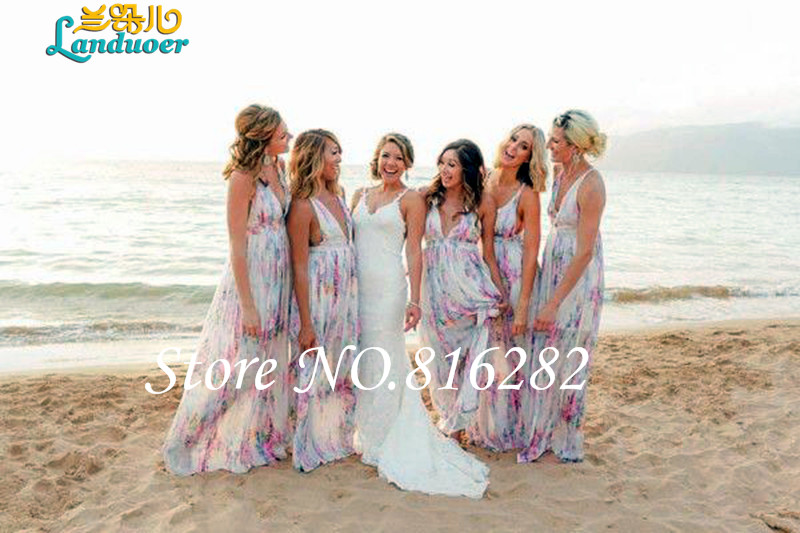 Popular Print Bridesmaid Dress-Buy Cheap Print Bridesmaid Dress ...
