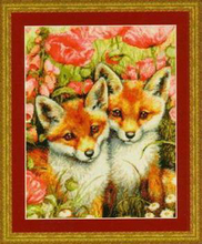 Needlework,DIY Cross Stitch,Sets For Embroidery kits,11CT&14CT,fox