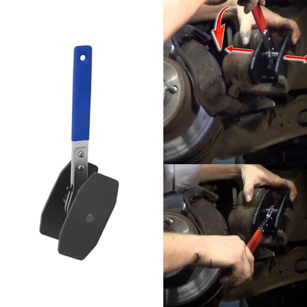 Купить с кэшбэком WHDZ 1 pcs 2018 Laser Ratchet Disc brake pad spreader Caliper Piston Press Steel Spreader Installation Hand Tools ferramentas ma
