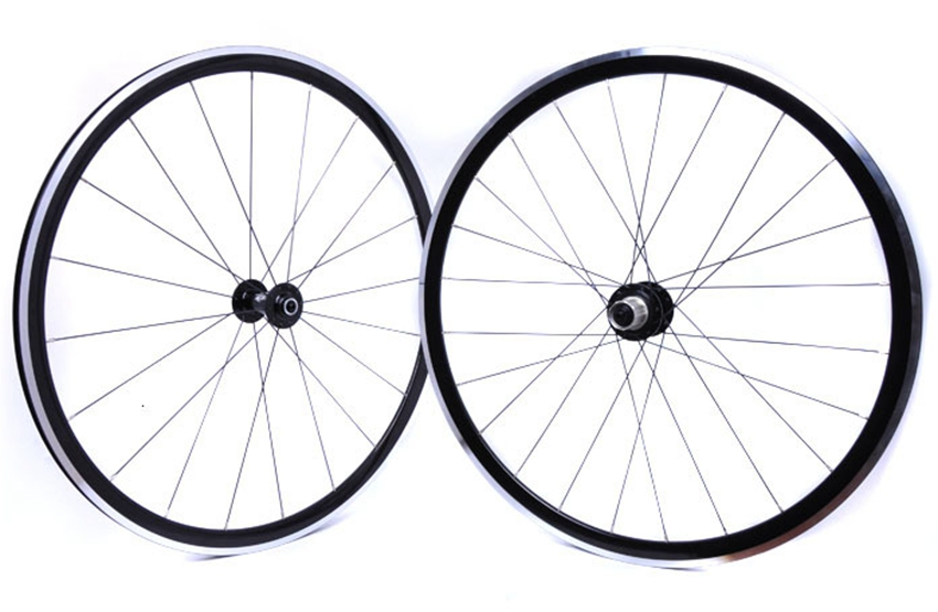 700C KinLin XR270 Alloy Aluminium bike wheelset strong road bicycle climbing wheels 1550g for one wheelset