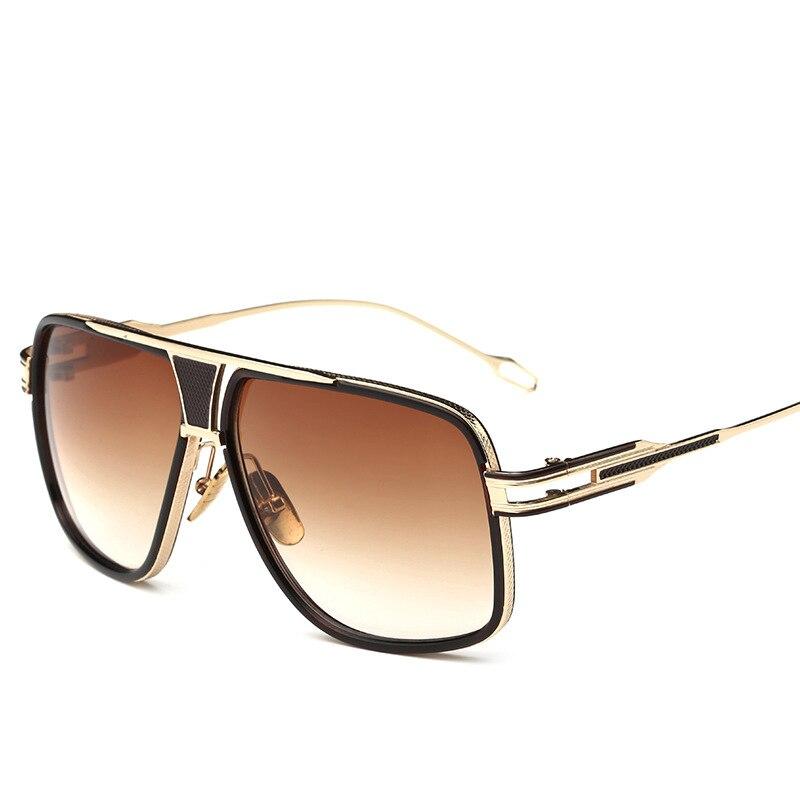 New Style 2019 Sunglasses Men Brand Designer Sun Glasses Driving Oculos De Sol Masculino Grandmaster Square Sunglass
