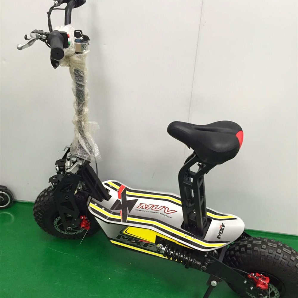 hot selling 1600w foldable electric bicycle 35km/h big wheel hub motor citycoco hoverboard scooter