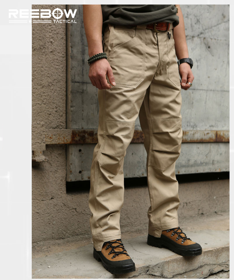 Outdoor Sports Cotton Pants Men Tactical Military Cargo Pants Urban SWAT Combat Overalls Trousers Breathable Loose Pants men military tactical outdoor shirts 100% cotton breathable long sleeve shirt army multi pockets swat shooting urban sports