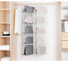 2/3/4 Layer Pockets Wall Door Closet Home Hanging Storage Bag Organizer Pouch Home Useful Wall Door Hanging StorageBag Organizer(China)