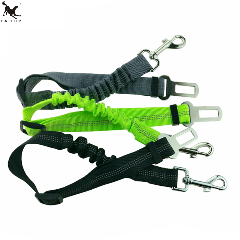 [TAIL]Pets Dog Car Seat Belt Elastic Reflective Safety Rope Dog Car Leash Rope Belt forMiddle Big Dog Satey Pets Dog Leash CL152