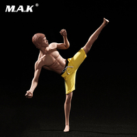 1/6 Asia Muscle Male Model Toys Super Flexible Male Seamless With Stainless Steel Skeleton PL2016 M32 Kids Toys