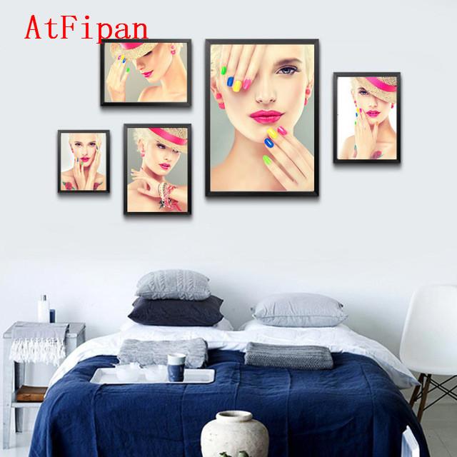 cuadros atfipan casa moderna decoracin de la manera de las mujeres de belleza de uas de