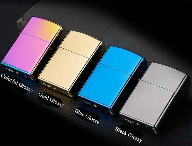 Cigarette lighter Smoking font b Accessories b font Electric Arc Windproof Rechargeable Flameless No Gas Metal