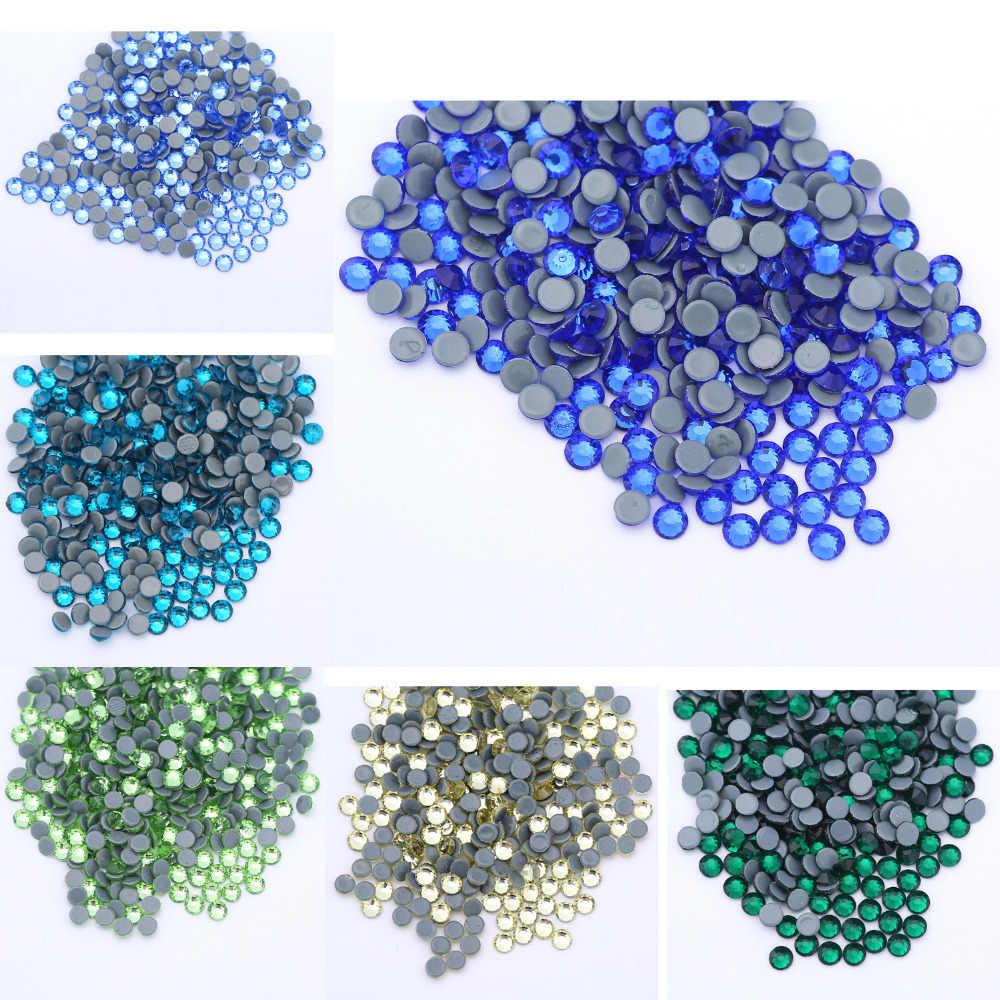 ss20 (4.6-4.8mm) 1440pcs Crystal Glitter Gems Strass Flatback Hot Fix Stones cfe0f51f922f